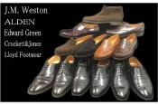ALDEN(オールデン)・J.M.WESTON(ジェイエムウエストン)など大量同時入荷です。