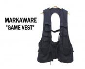 【激レアアイテム入荷速報】即売れ必至...MARKAWARE/マーカウェアよりGAME VEST(ゲームベスト)のご紹介