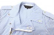 COMME des GARCONS HOMME PLUS/コムデギャルソンオムプリュスからストライプデザインのコートが入荷致しました。