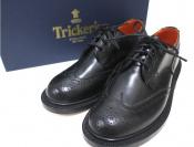 Tricker's/トリッカーズよりウイングチップシューズ未使用入荷致しました。