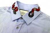 GUCCI/グッチよりスネーク刺繍が施されたオックスフォードシャツ入荷。