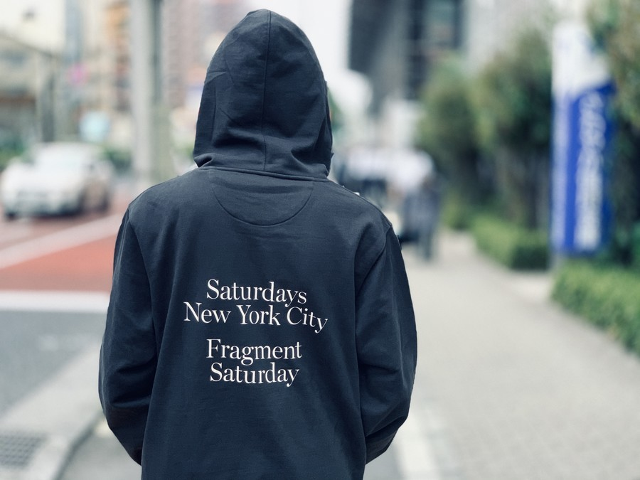 「ストリートブランドのSaturdays NYC×FRAGMENT 」