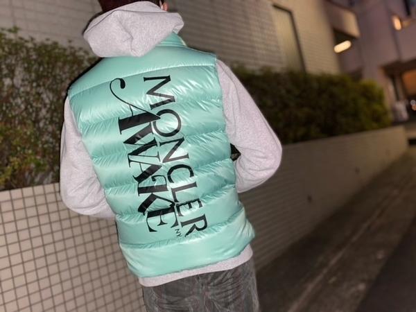 「コラボ・別注アイテムのMONCLER GENIUS × AWAKE NY 」