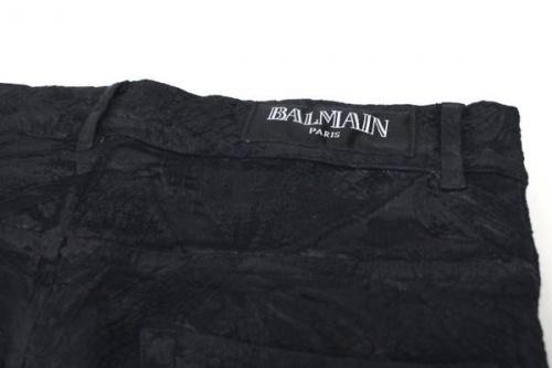 バルマンのジャガードパンツ