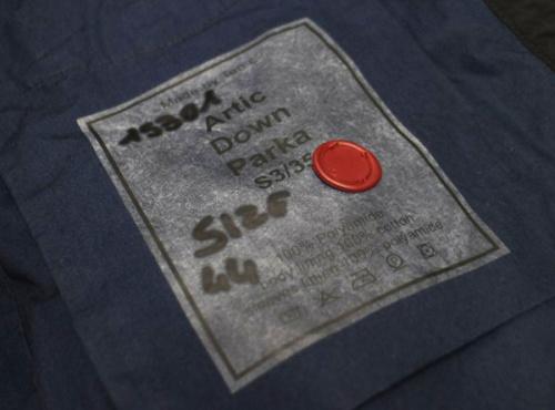テンシーのダウンジャケット