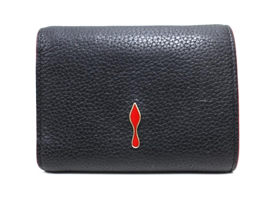 クリスチャンルブタンの三つ折り財布