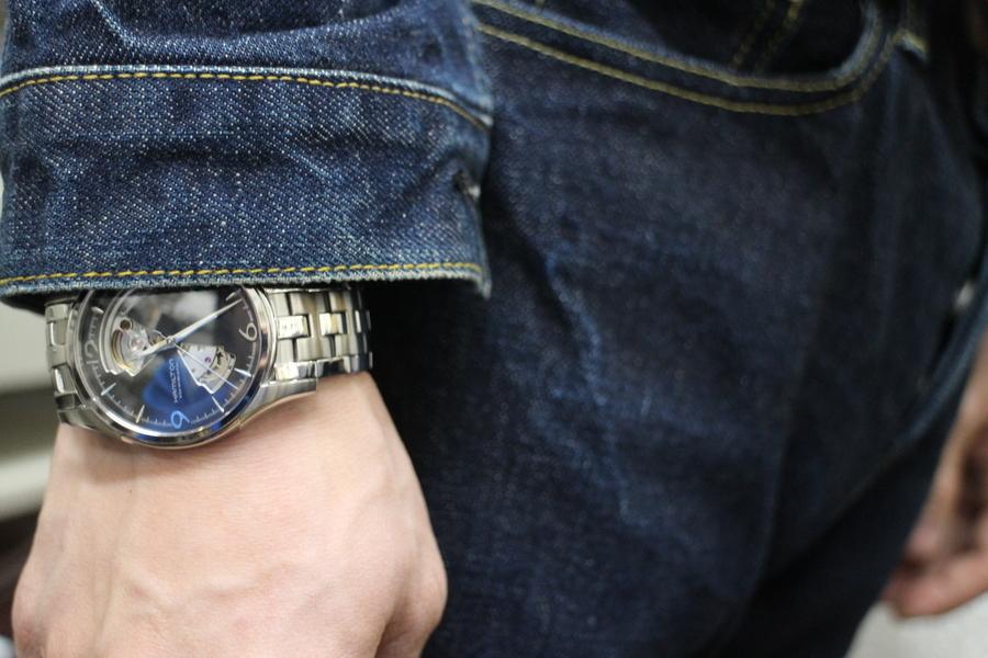 ハミルトンの腕時計