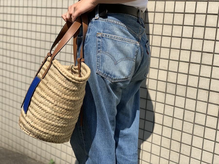 ロエベのカゴバッグ