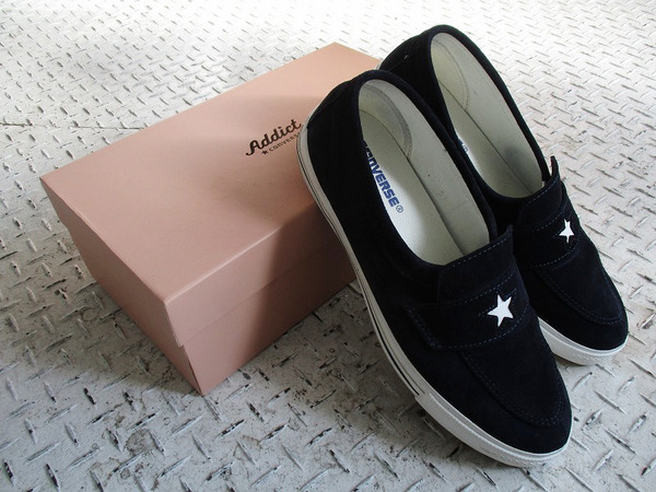 CONVERSE ADDICT】ONE STAR LOAFER入荷
