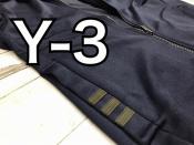 Y-3のトラックジャケットをご紹介!!