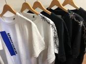 sacaiのプリントTシャツが大量入荷致しました!