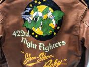 Buzz RicksonsよりバックプリントA-2レザージャケットが入荷致しました!