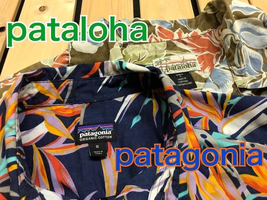 「アウトドアブランドのpatagonia pataloha 」