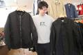 「レミレリーフのMA-1ジャケット 」