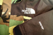 THE NORTH FACE GORE-TEX カモフラ柄 入荷いたしました!!