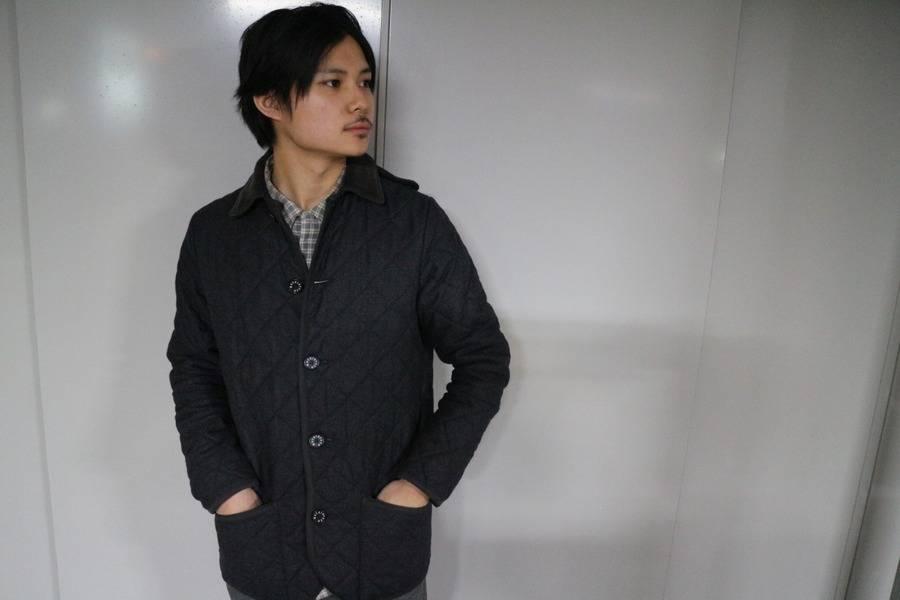 「マッキントッシュのキルティングジャケット 」