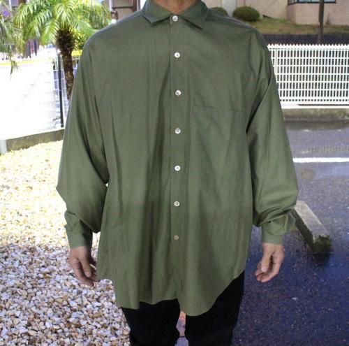 ビッグシャツの18年モデル