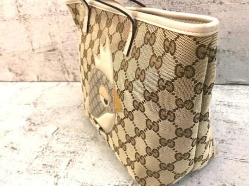 グッチのパパガッロオウムハンドバッグ
