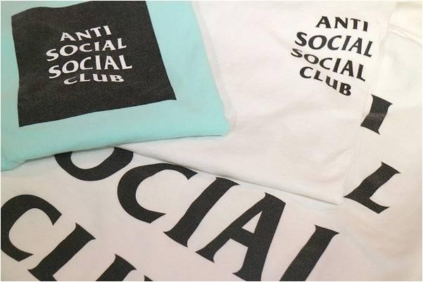 ANTI SOCIAL SOCIAL CLUBの定番モデル入荷です