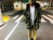 【A BATHING APE/ア ベイシング エイプ】定番のモンキーカモジャケット
