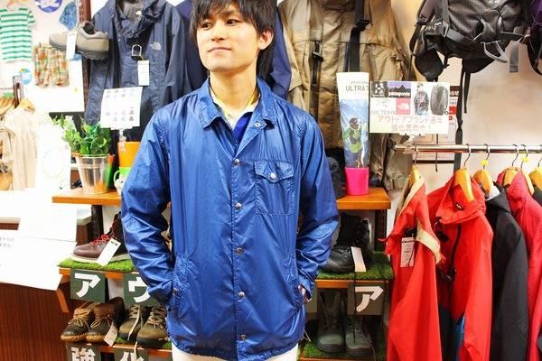 「ノースフェイスパープルレーベルのジャケット 」