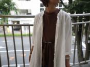 【nest Robe / ネストローブ】夏に大活躍のリネンワンピース