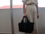 【PRADA / プラダ】人気のナイロン地のハンドバッグ入荷してます。