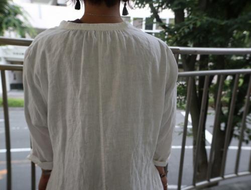 ネストローブのシャツワンピース