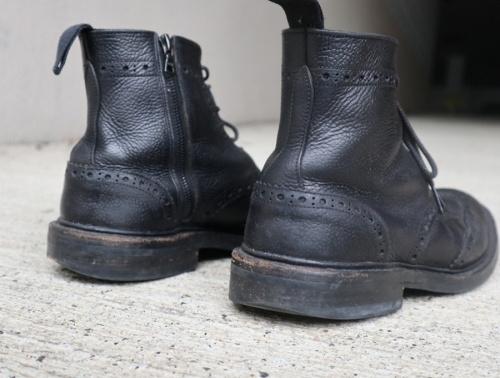 トリッカーズ×ソフネットのブーツ