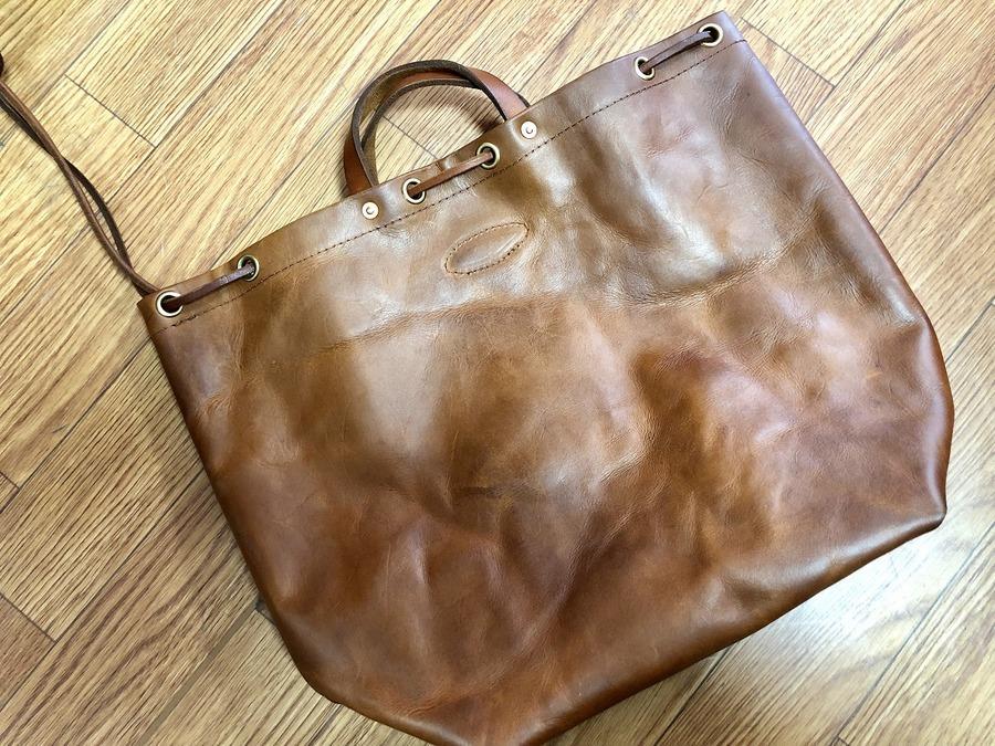 バスコのレザーバッグ