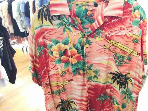 アロハシャツの夏物