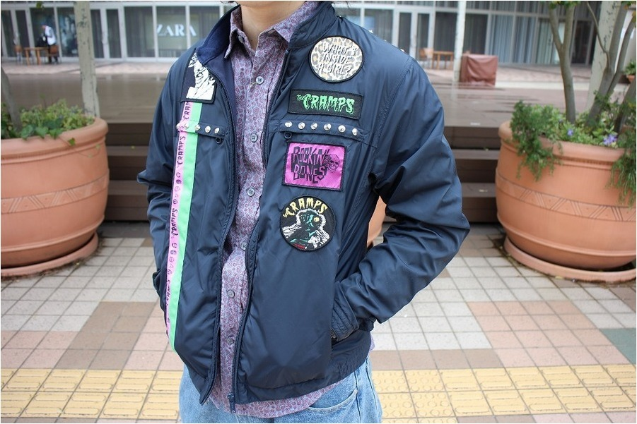 Hysteric Glamour × THE CRAMPSのヒステリックグラマー × ザ・クランプス