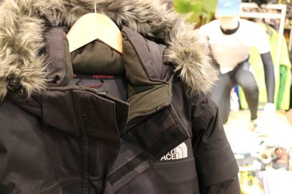「ノースフェイスのアイスジャケット 」