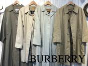 これからの春にピッタリ!『BURBERRY』ステンカラーコート当店にはたくさん揃っています!