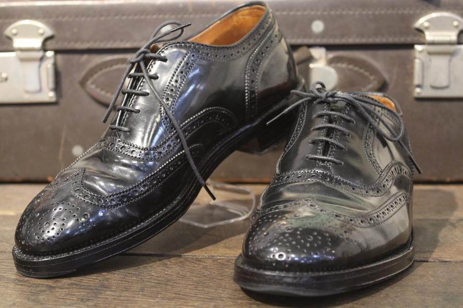 革靴の王様ALDEN/オールデンよりウィングチップシューズのご紹介。【LONG WING TIP】