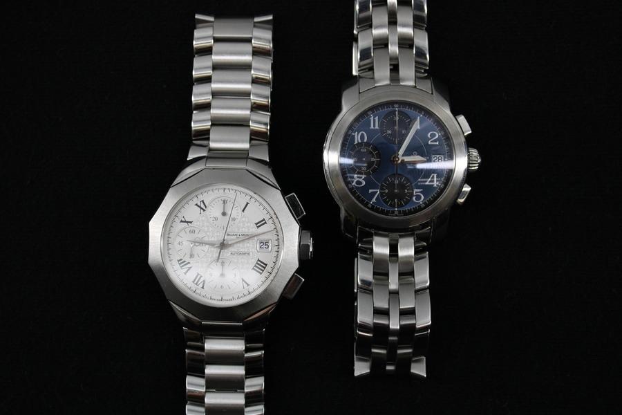 【古参ブランド】 ボーム&メルシエ(BAUME&MERCIER)の時計入荷しました。