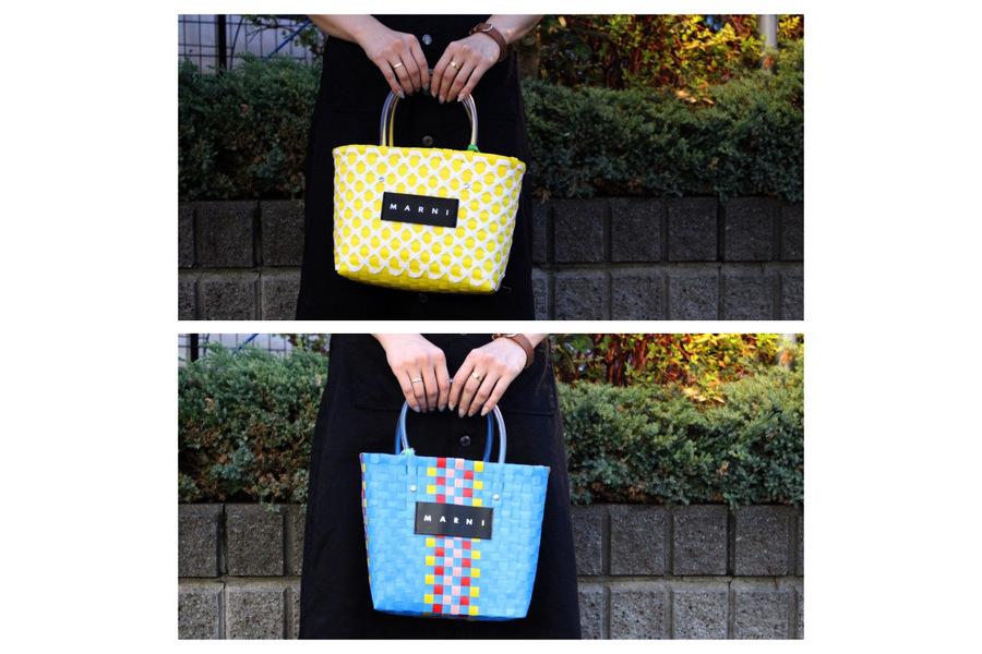 大人気【MARNI / マルニ】フラワーズカフェ、ショッピングバッグのご紹介です。