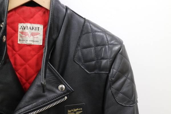 「Lewis Leathers ルイスレザーズのレザージャケット 」