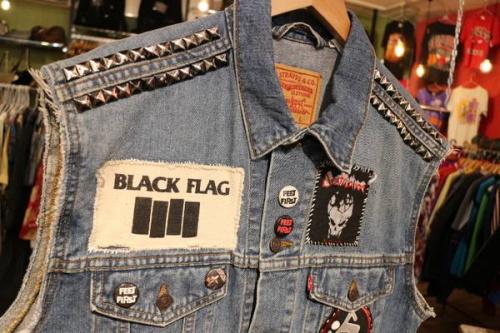 Black Flag ブラック・フラッグのバンT