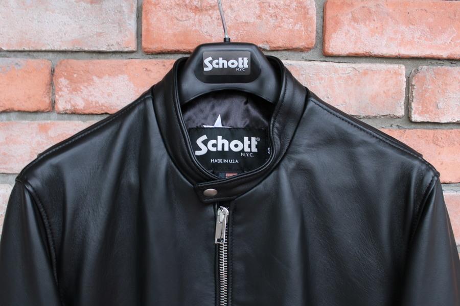 スコット ソフのレザージャケット