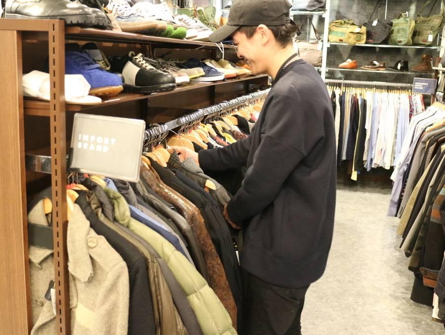 《古着屋でアルバイト!!!》一古着屋で楽しく働きませんか♪