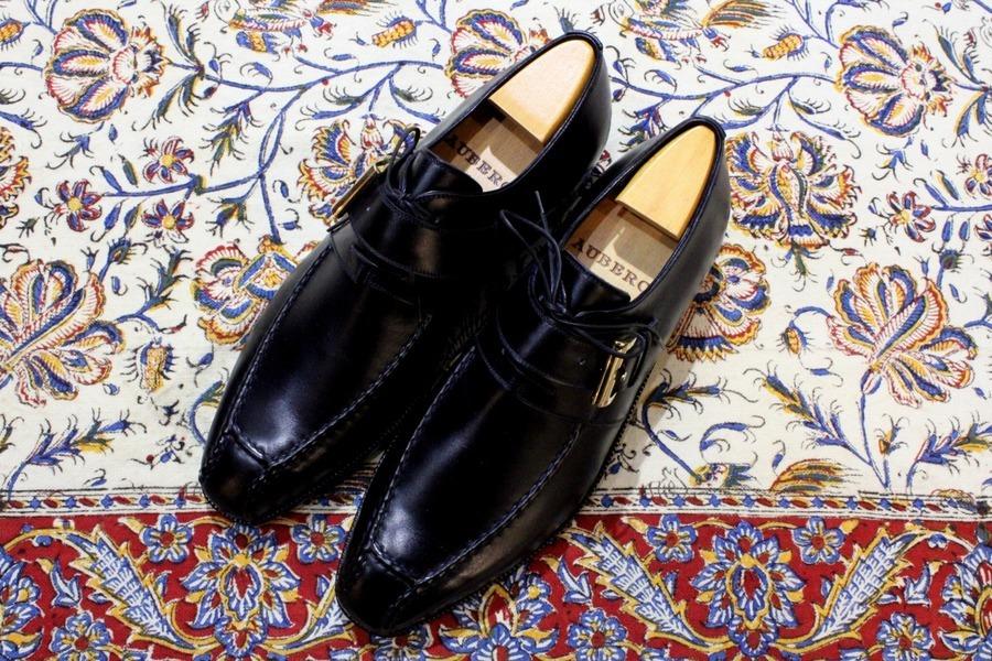 世界的な最高峰革靴【AUBERCY/オーベルシー】別注モデルの入荷。