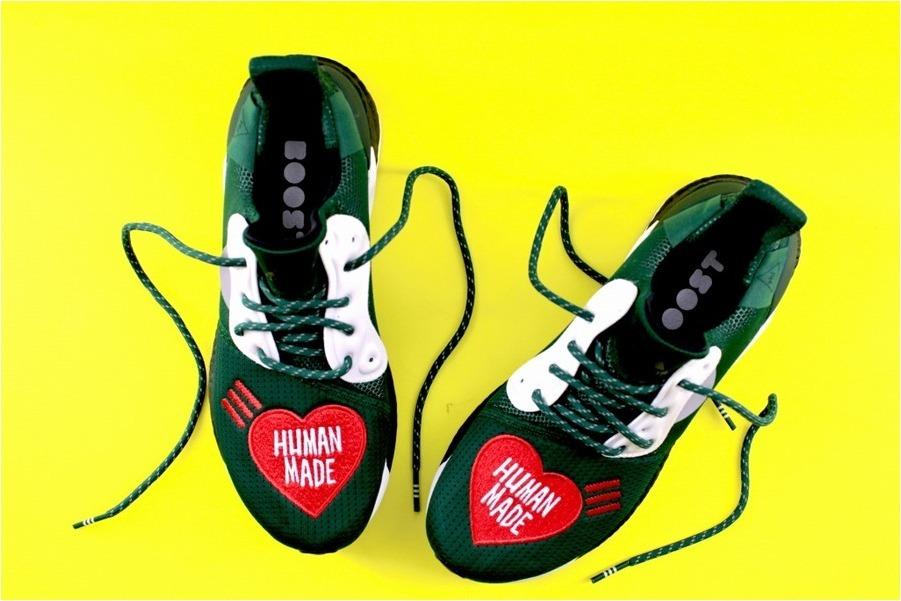 限定カラー【adidas×HUMAN MADE】コラボスニーカーのご紹介。