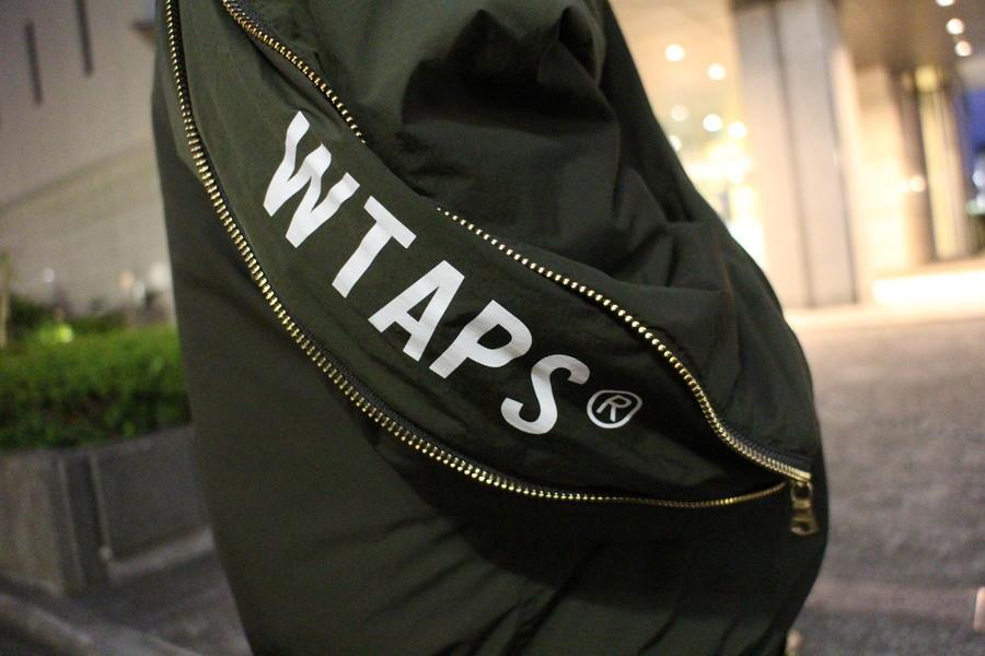 WTAPS/ダブルタップスよりデザインの光るMA-1ジャケットのご紹介。