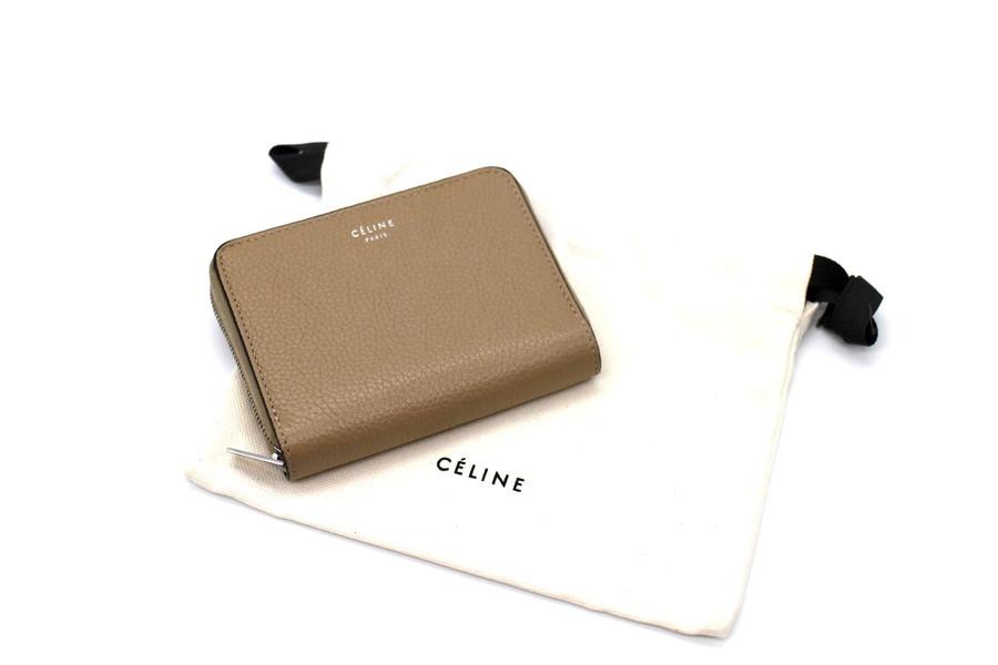 CELINE/セリーヌよりコンパクトタイプウォレットの入荷。【Zipped Card Holder】