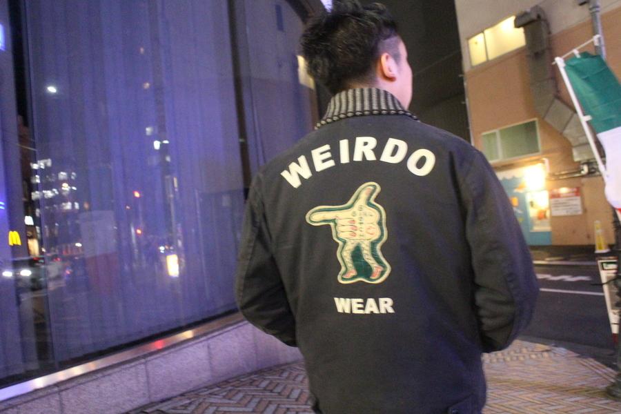 「ドメスティックブランドのWEIRDO 」