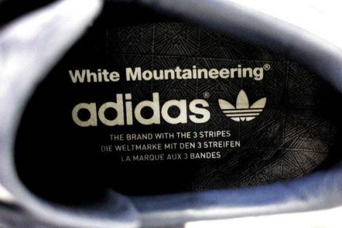 スタンスミスのホワイトマウンテニアリング