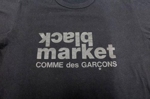 comme des garconsのロゴTシャツ