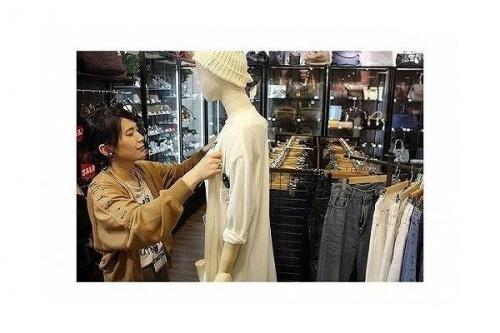 古着のファッション
