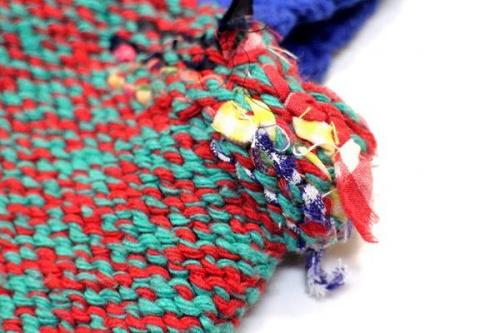 ダニエラグレジスの編みバッグ